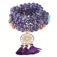 7 Chakra Dream Catcher 108 Mala