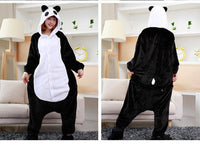 Adults Cartoon Animal Pajama Body Suits Panda / S Costume