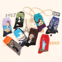 Amazing Classic Art Socks Clothing