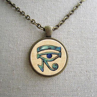 Ancient Eye Of Horus Necklace pendant