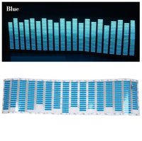 Animated Equalizer Car Sticker Blue Stickers