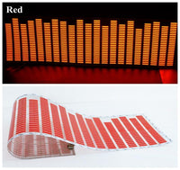 Animated Equalizer Car Sticker Red Stickers