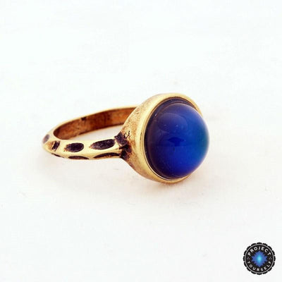 Antique Bronze Plated Mood Ring Rings