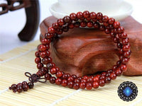 Aromatic Indian Rosewood 108 Bead Mala 6mm Mala