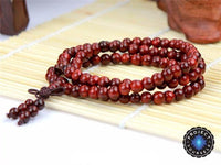 Aromatic Indian Rosewood 108 Bead Mala Mala