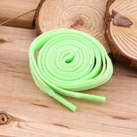 Awesome Glow in the Dark Shoe Laces Green Footwear