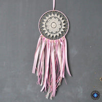 Beautiful Pink Lace Ribbon Dream Catcher Dreamcatchers