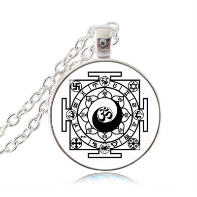 Beautiful sacred sri yantra pendant necklaces project yourself beautiful sacred sri yantra pendant necklaces style 4 sri yantra necklace aloadofball Image collections