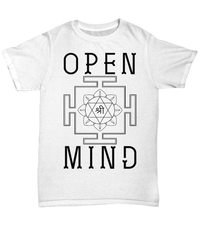 Being Open Minded Unisex Tee / White / sml Shirt / Hoodie