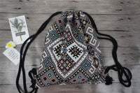 Bohemian Ethnic Drawstring Bag Bags