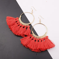Boho Bliss Tassel Earrings Earrings