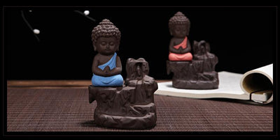 Buddha Backflow Incense Burner Incense Holder