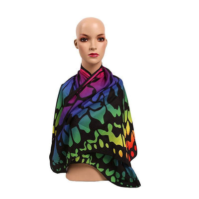 Butterfly Wings Beach Shawl Tapestry