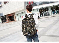 Camouflage School Backpack Bags