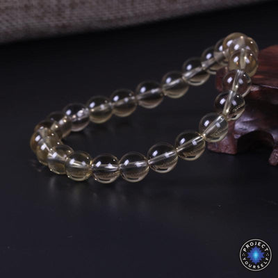 CERTIFIED Natural Citrine Pi Xiu Wealth and Prosperity Bracelet Bracelet
