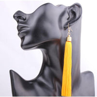 Classic Chic Long Tassel Earrings Earrings