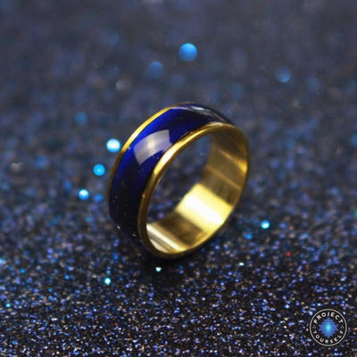 Classic Golden Mood Ring 6.5 Rings
