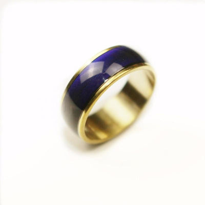 Classic Golden Mood Ring Rings