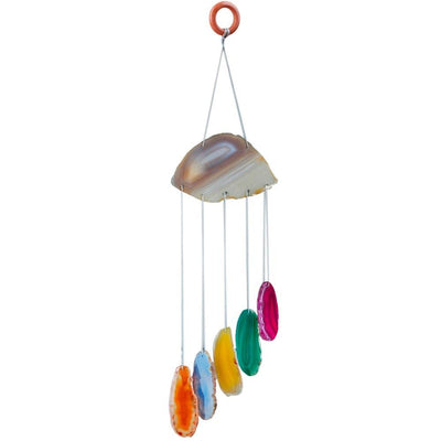 Colorful Agate Sun Catcher Decor