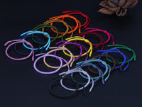 """Colors of Life"" Lucky Handmade Buddhist Knots Rope Bracelet Bracelet"