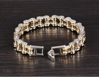 Cool Stainless Steel Men's Biker Chain Bracelet Bracelet