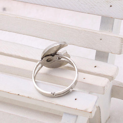Cute Crescent Moon and Star Mood Ring Rings