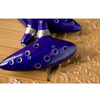 Deep Blue Ocarina Decoration