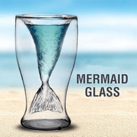 Double Wall Mermaid Glass Accessories