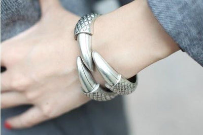 Dragon Claw Clamp Cuff Bracelet