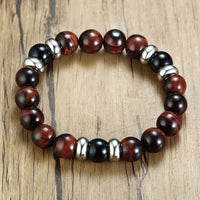 Dragon's Eye Stainless Steel Beaded Bracelet Bracelet