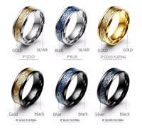 Dragon Titanium Ring Rings