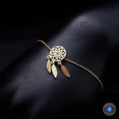Dream Catcher Jewelry Gold Bracelet Jewelry Set