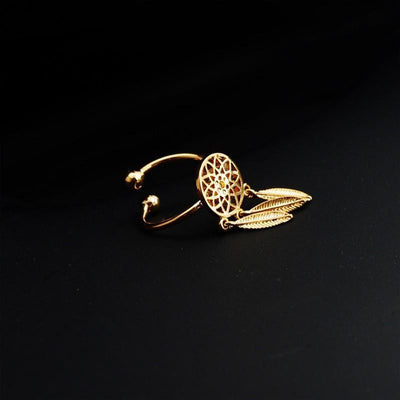 Dream Catcher Jewelry Gold Ring Jewelry Set