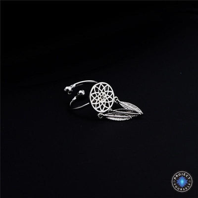 Dream Catcher Jewelry Silver Ring Jewelry Set
