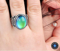 Dreamy Vintage Mood Ring Rings