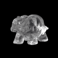 Elephant Stone Totem Clear Crystal Crystals