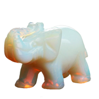 Elephant Stone Totem Opal Crystals