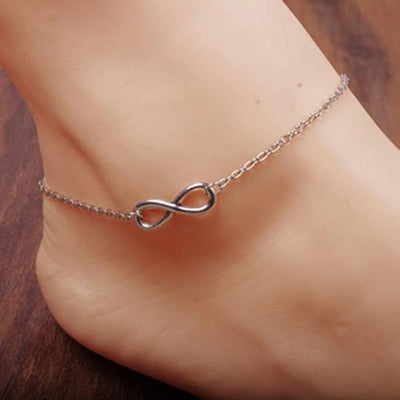 Eternal Love Anklets Golden Infinity Anklets