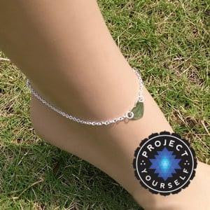 Eternal Love Anklets Silver Heart Anklets