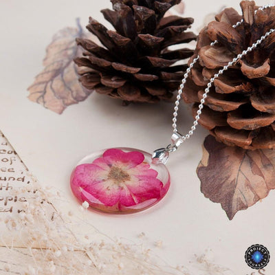 Eternal Spring Flower Pendant Necklace Necklace