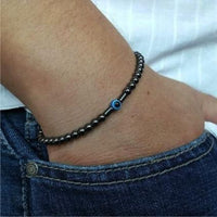Evil Eye Protection Black Onyx Bracelet Bracelet