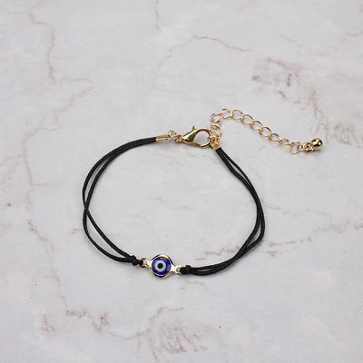 Evil Eye Protection Bracelet black gold Evil Eye Jewelry