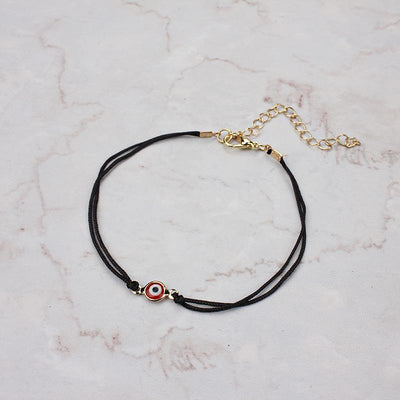 Evil Eye Protection Bracelet Black gold red Evil Eye Jewelry