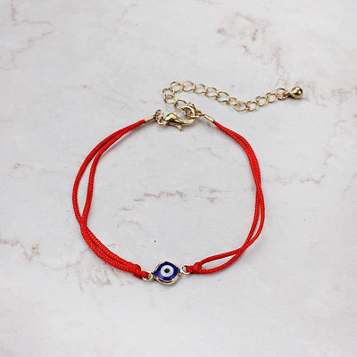 Evil Eye Protection Bracelet red gold Evil Eye Jewelry