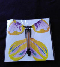 Flying Butterfly Card Insert Toys
