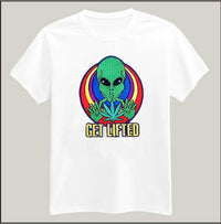 Fun Alien Shirts Women C10 / S