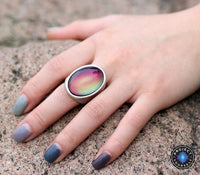 Funky Statement Mood Ring 7 Rings