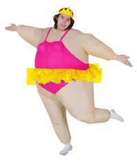 Funny Inflatable Costumes Ballerina Costume