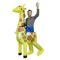 Funny Inflatable Costumes Giraffe Costume