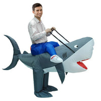 Funny Inflatable Costumes Shark Costume